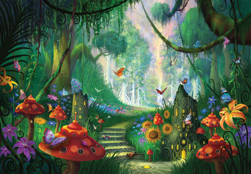Hidden Treasure Fantasy Jigsaw Puzzle