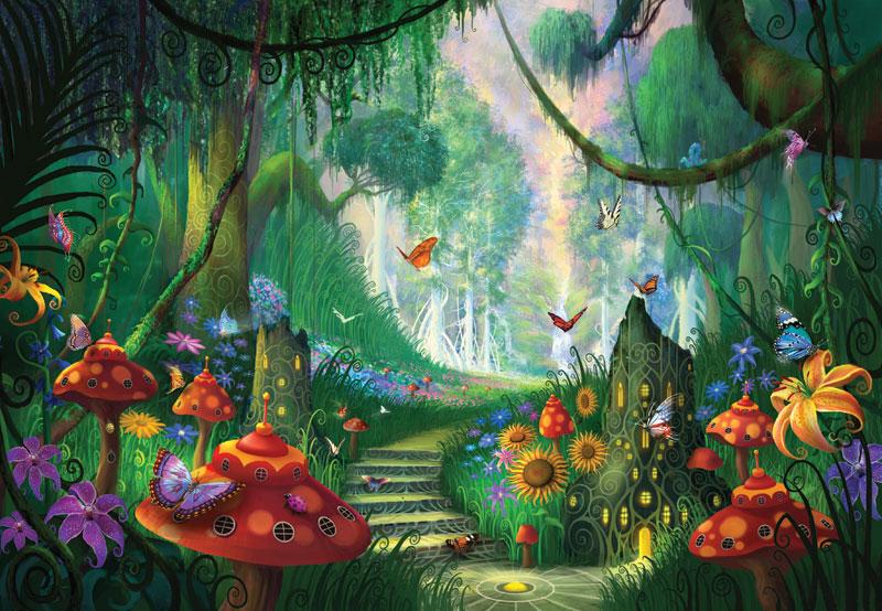 Hidden Treasure Fantasy Jigsaw Puzzle