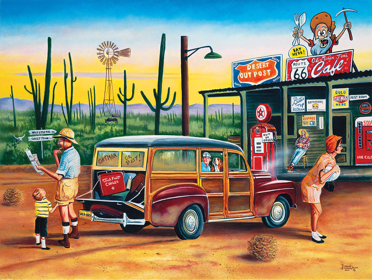 Are We There Yet? Cars Jigsaw Puzzle
