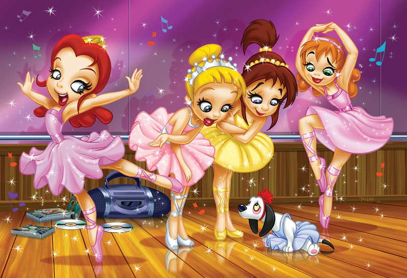Ballet (Go Girls Go!) Sports Jigsaw Puzzle