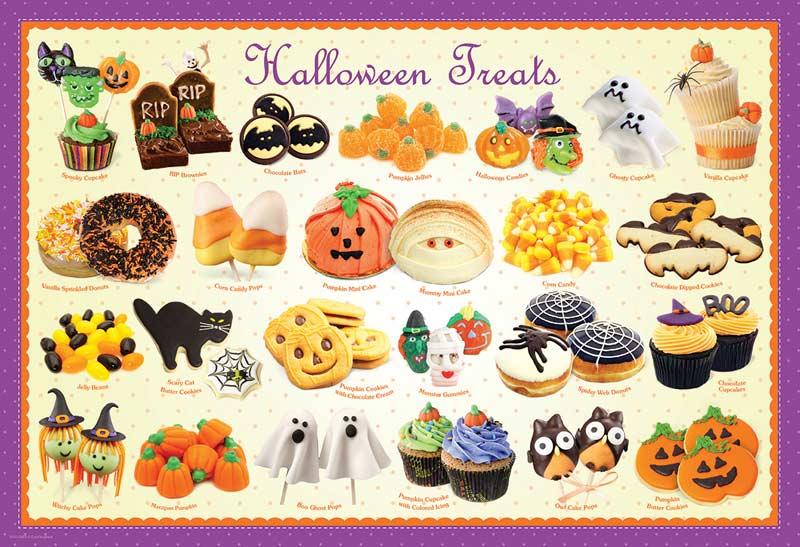 Halloween Treats Halloween Jigsaw Puzzle