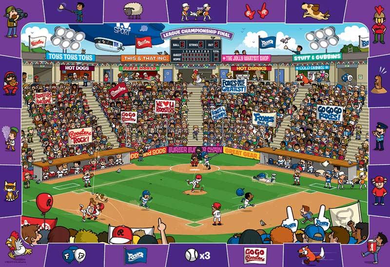 Baseball - Scratch and Dent Cartoons Hidden Images