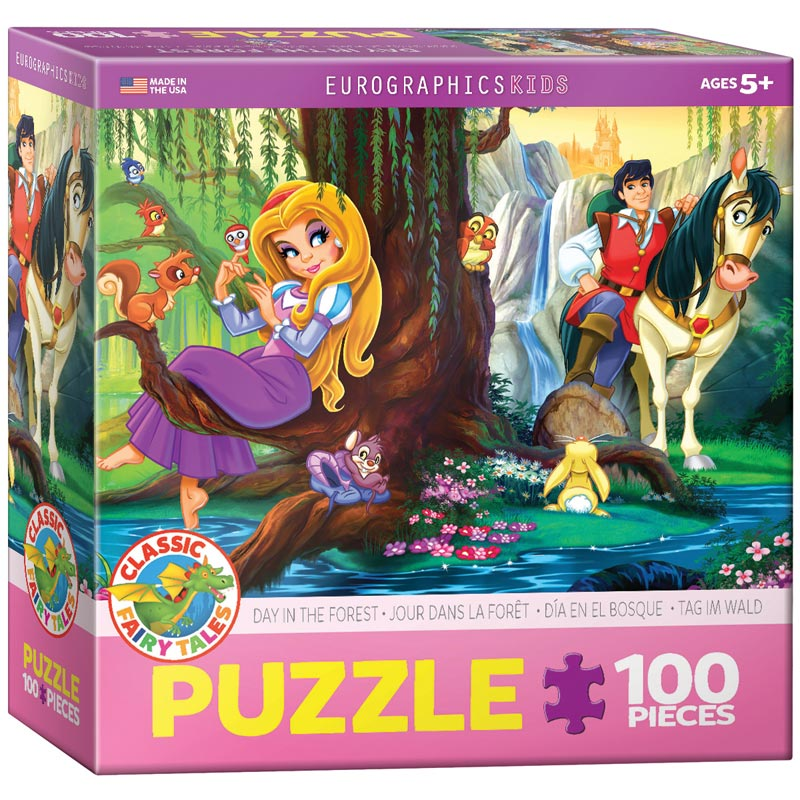 Day in the Forest Fantasy Jigsaw Puzzle
