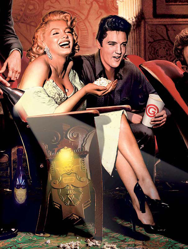 Legends - Classic Interlude Famous People Jigsaw Puzzle