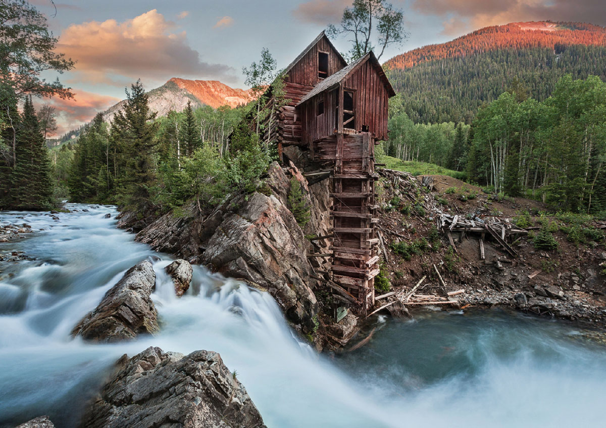 Crystal River, CO Landscape Jigsaw Puzzle