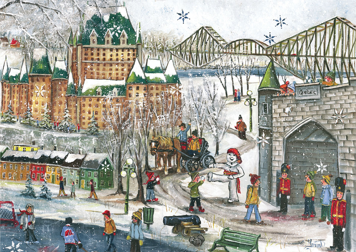 Quebec Carnival Winter Jigsaw Puzzle