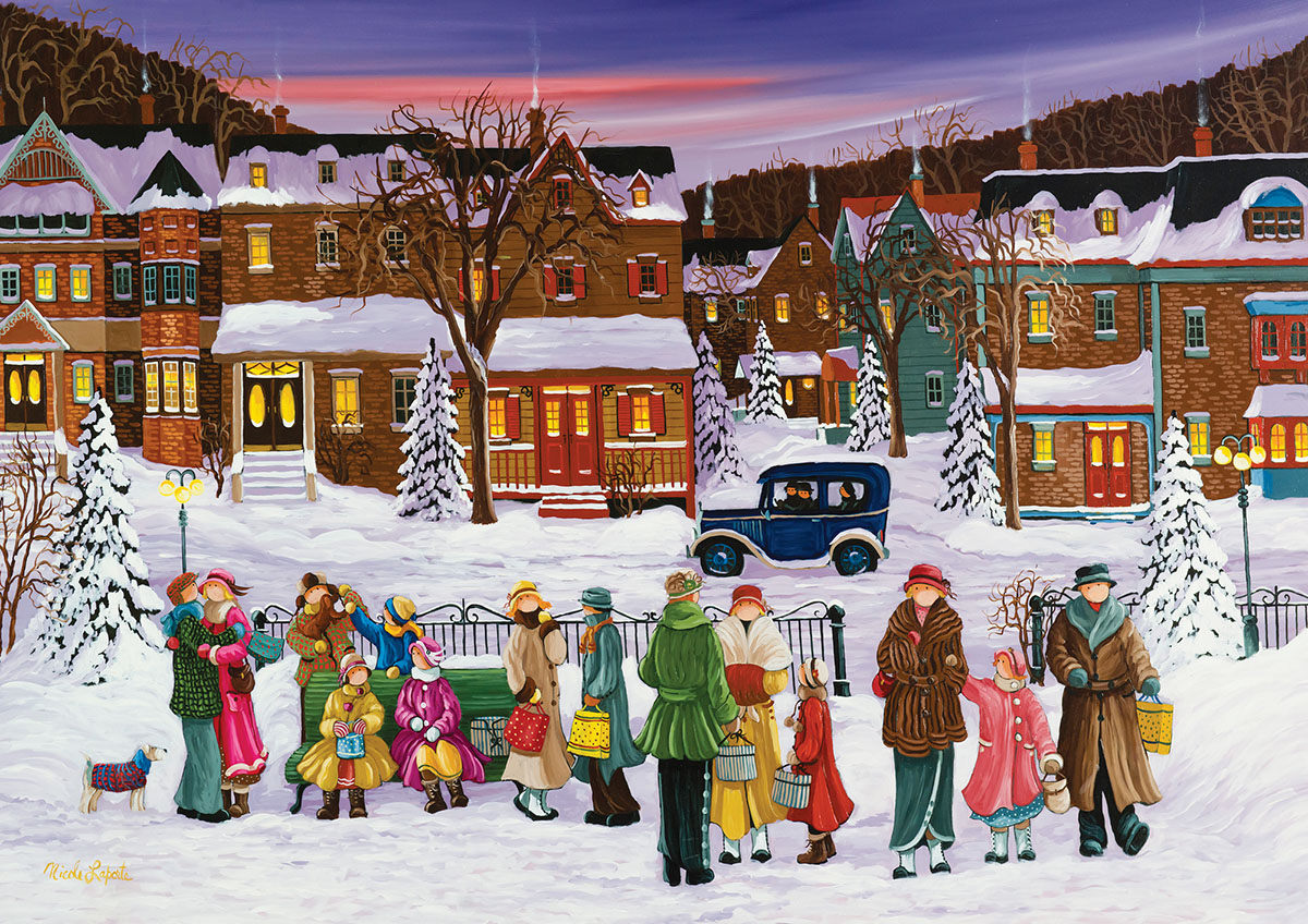 PZ 1000 N. Laporte: A Gift for You Christmas Jigsaw Puzzle