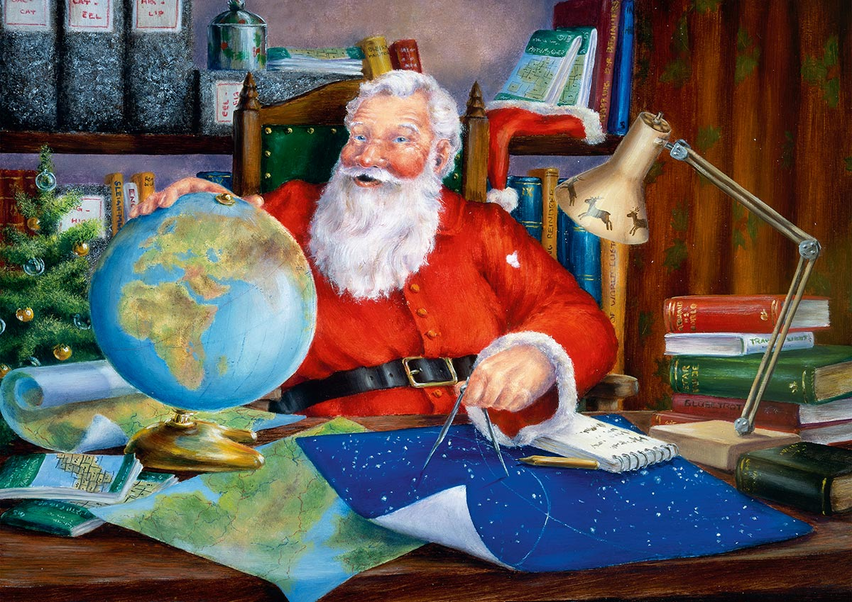 The Next Tour Santa Jigsaw Puzzle