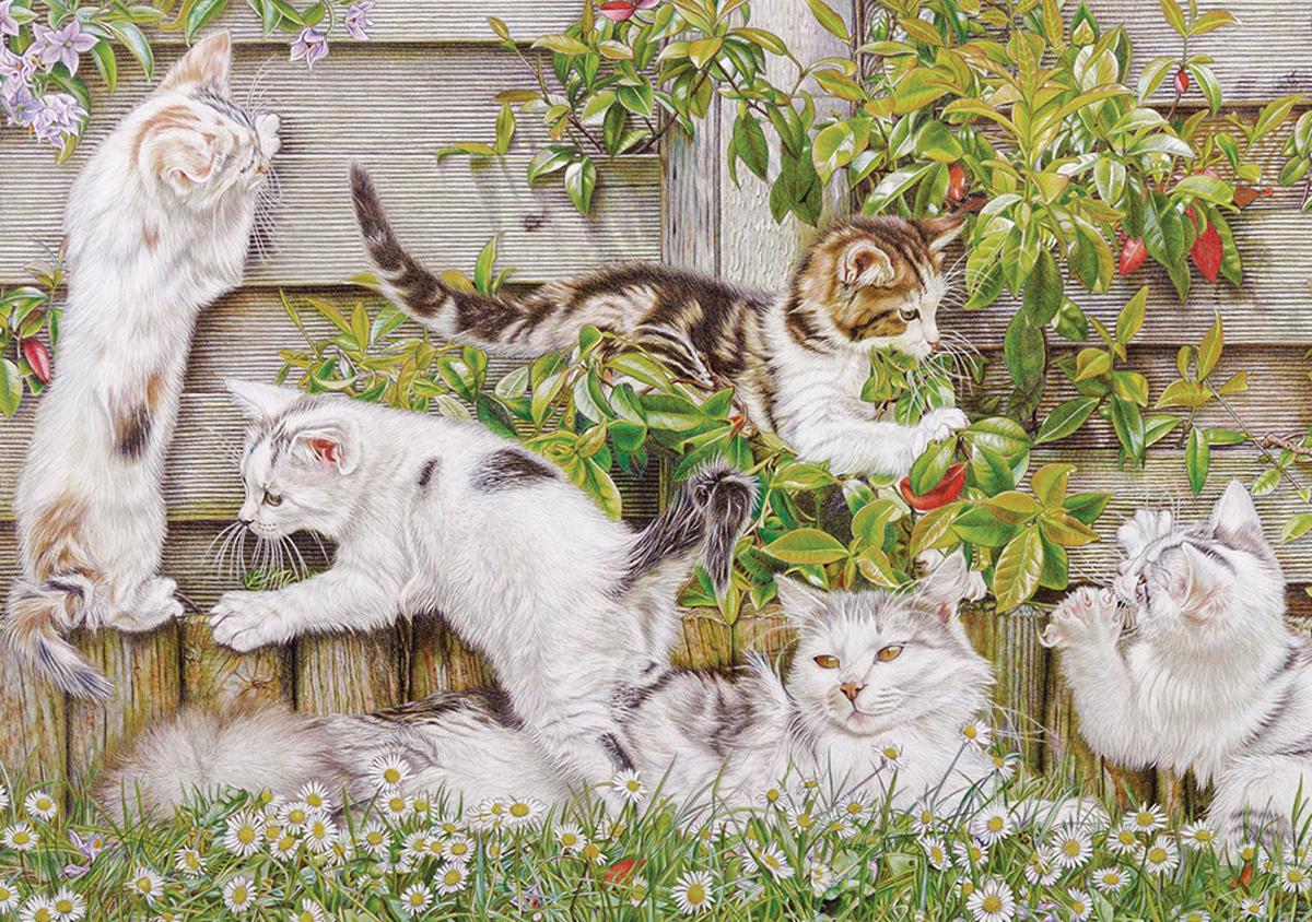 Happy Days Cats Jigsaw Puzzle