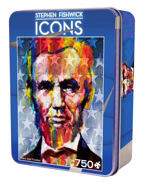 Icons - Starry Eyed Freedom Famous People Jigsaw Puzzle