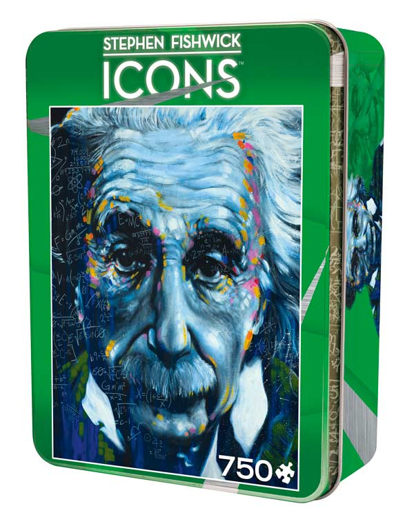 Icons - It's All Relative Famous People Jigsaw Puzzle