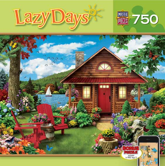 Lazy Days - Waterfront Summer Jigsaw Puzzle