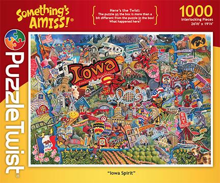 Iowa Spirit Collage Hidden Images