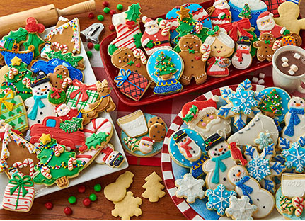 Cookies at Christmas Christmas Hidden Images