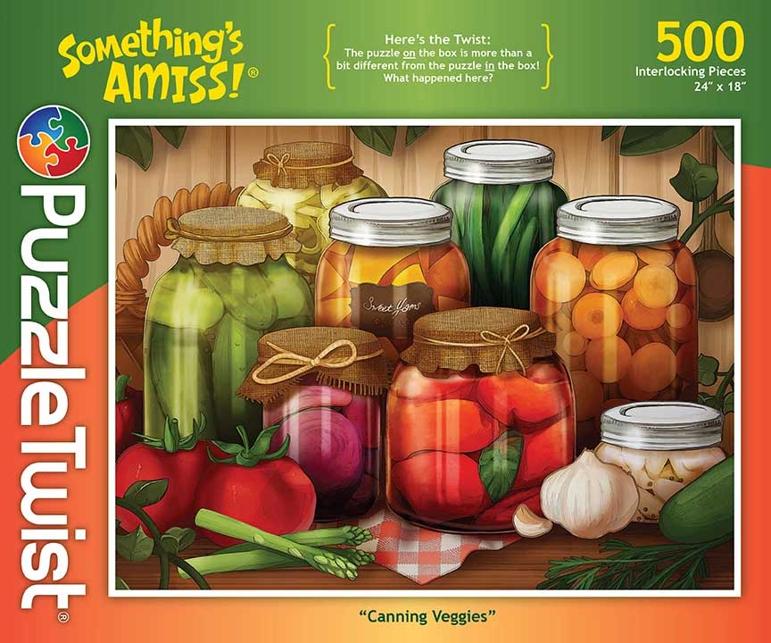 Canning Veggies Food and Drink Hidden Images