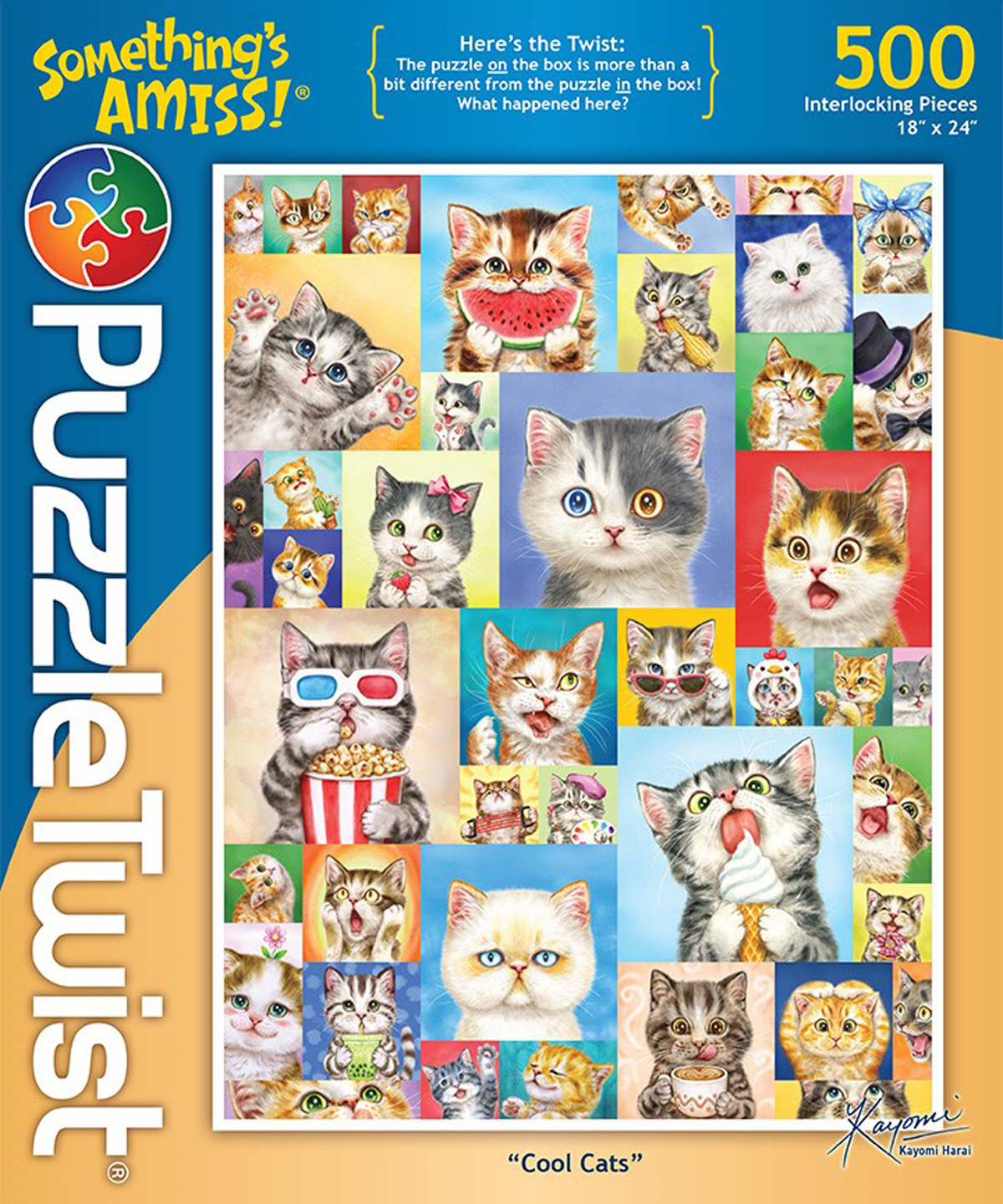 Cool Cats Cats Jigsaw Puzzle