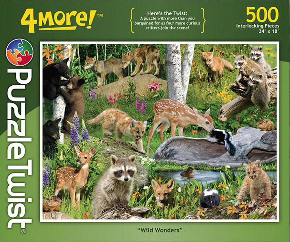 Into the Wild Animals Jigsaw Puzzle