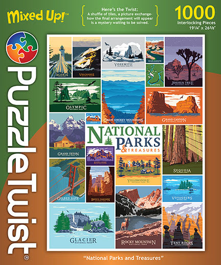 National Parks and Treasures National Parks Hidden Images