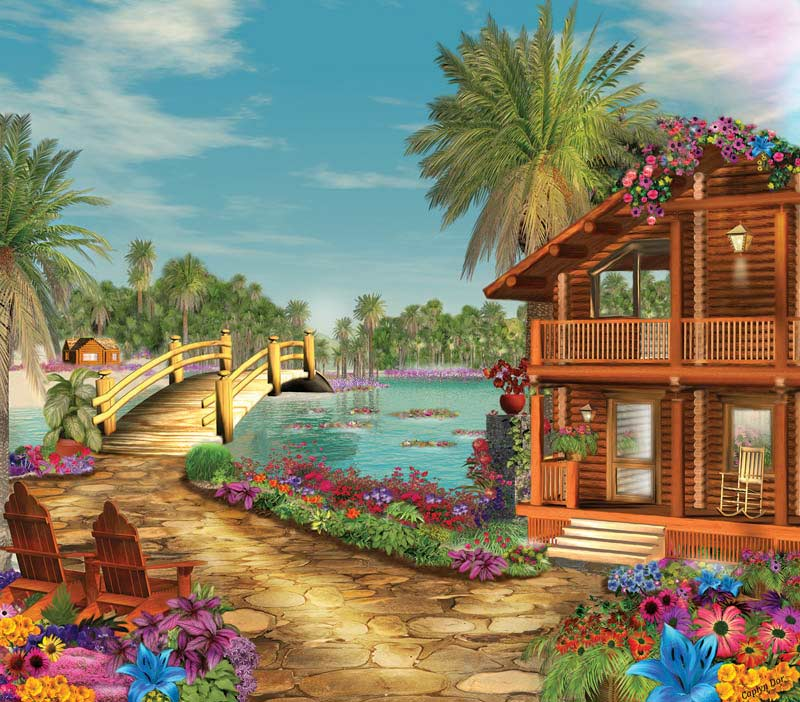 Island Dreams Beach Jigsaw Puzzle