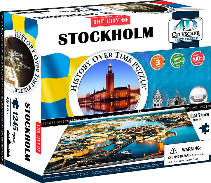 Stockholm Cities Jigsaw Puzzle
