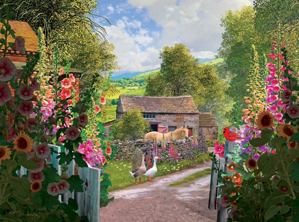 Yorkshire Farm Countryside Jigsaw Puzzle