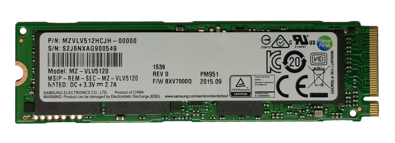 Samsung 512GB M.2 PCI Express Gen3 x4 PM951 NVMe SSD