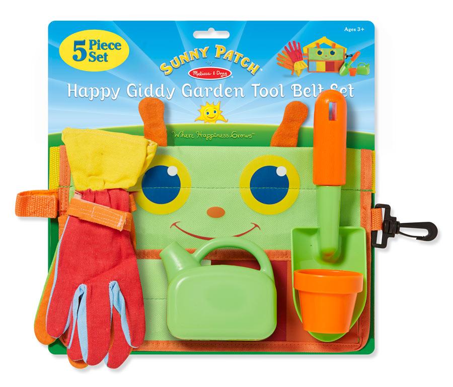 Happy giddy garden tool belt set for Gardening tools crossword