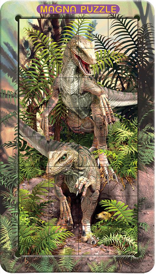 Raptors Dinosaurs 3D Puzzle