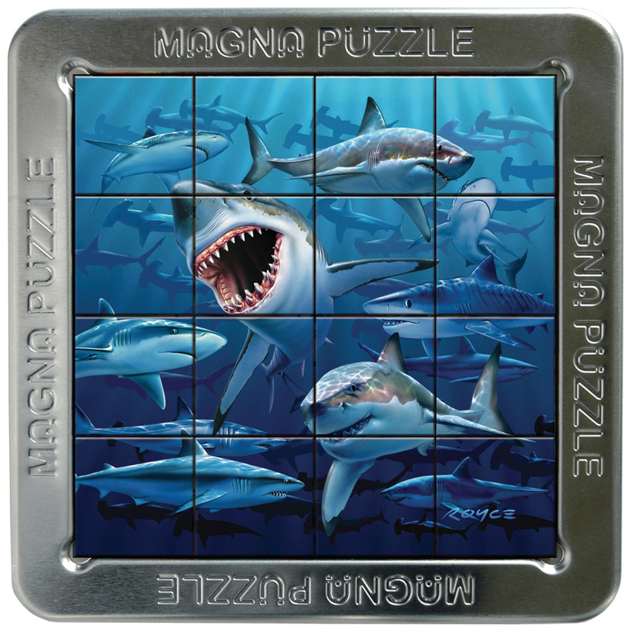 Sharks Under The Sea 3D Puzzle