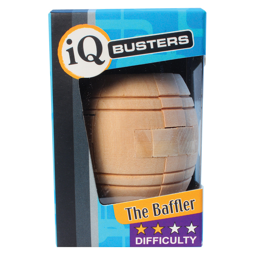 The Baffler (IQ Busters: Wooden Puzzle)