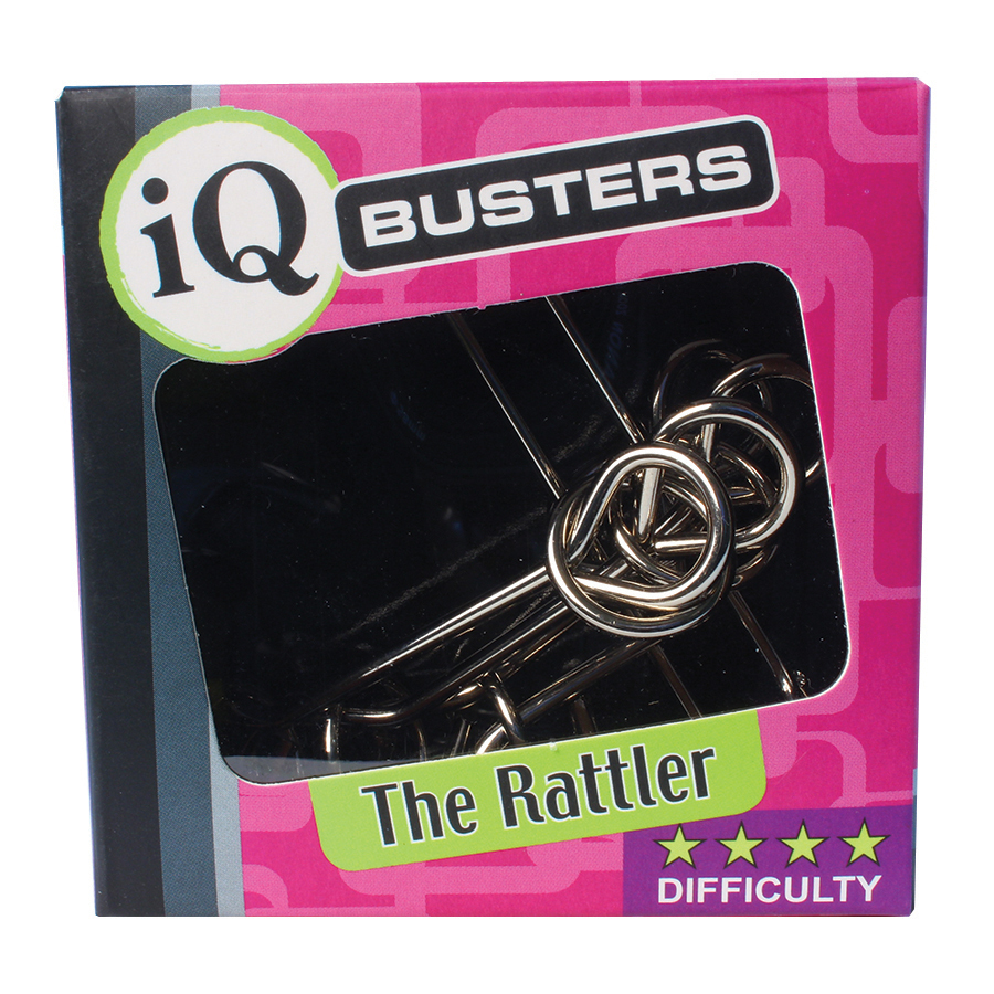 The Rattler (IQ Busters: Wire Puzzle)