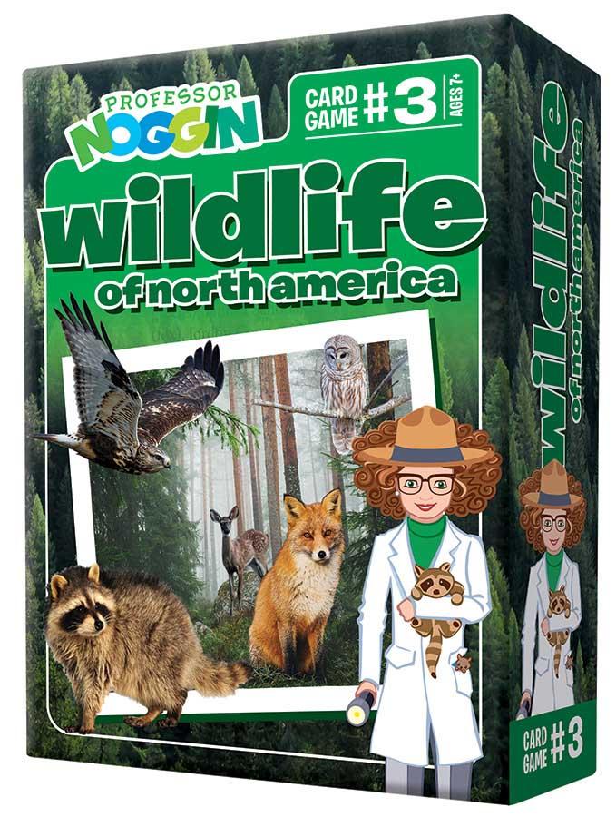Professor Noggin's Wildlife of North America