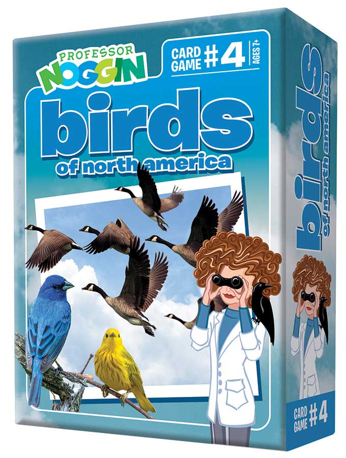 Professor Noggin's Birds of North America