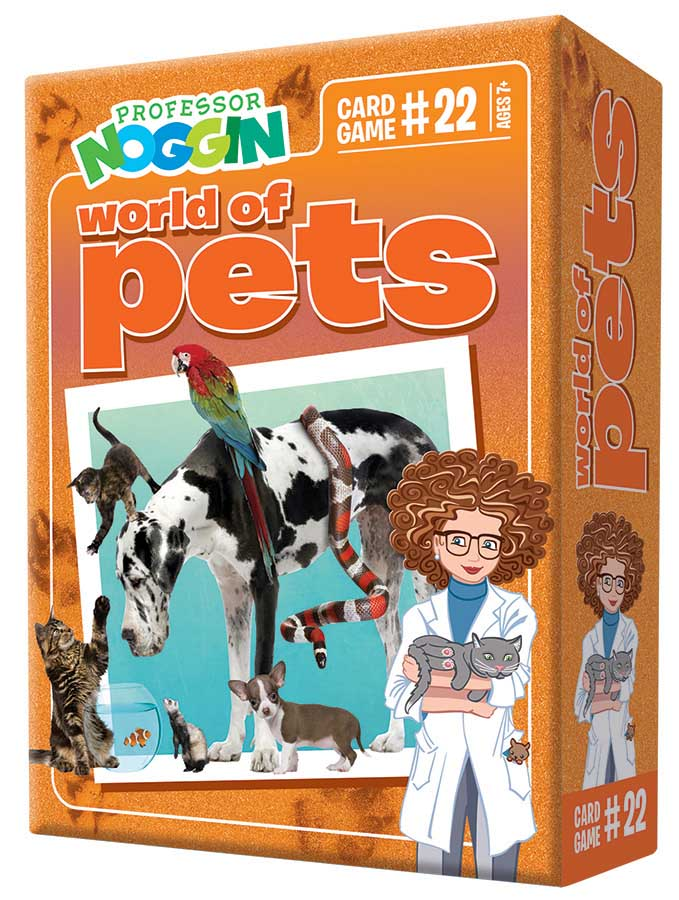 Professor Noggin's World of Pets