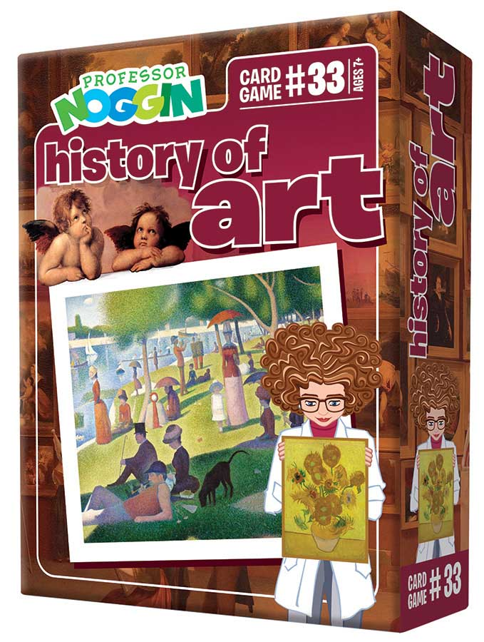 Professor Noggin's History of Art