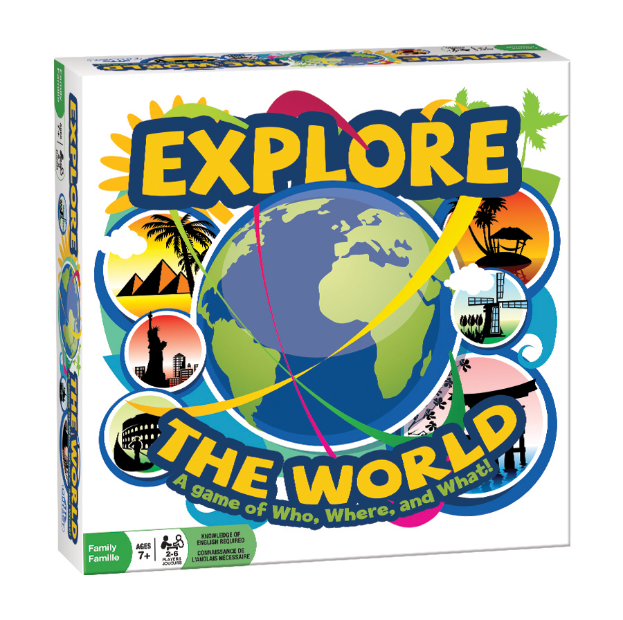 Explore the World - Scratch and Dent