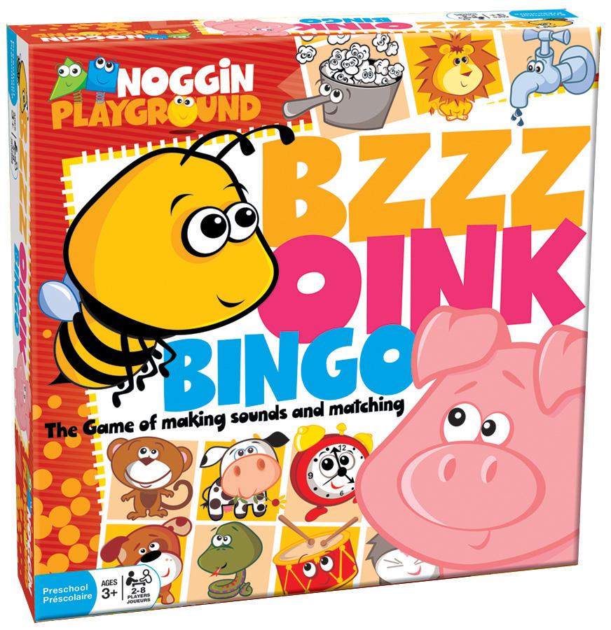 Bzzz Oink Bingo