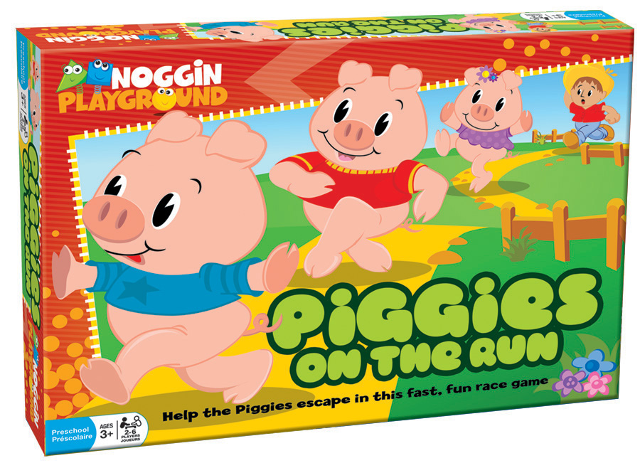 Piggies on the Run Animals