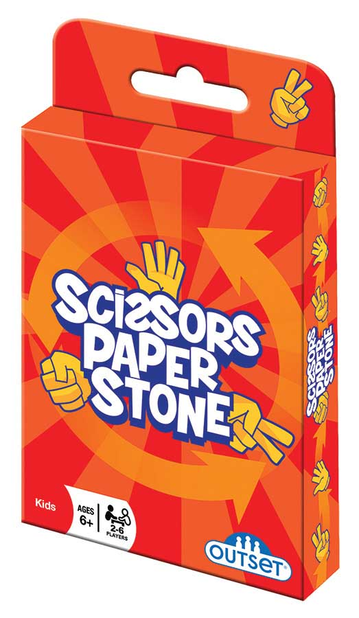 Scissors Paper Stone Card Game