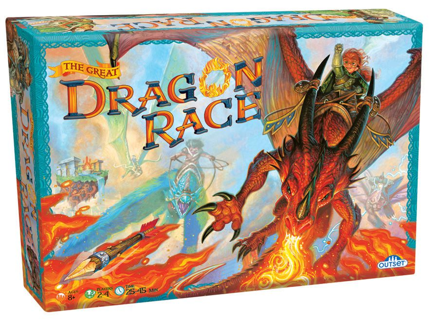 The Great Dragon Race Dragons