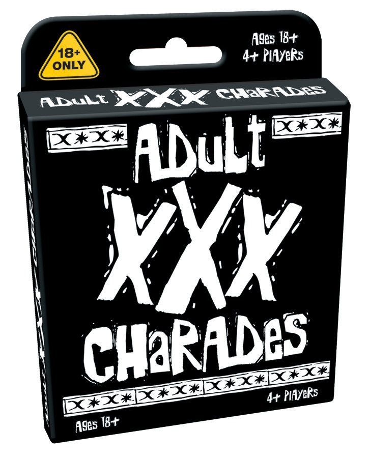 XXX Charades Card Game