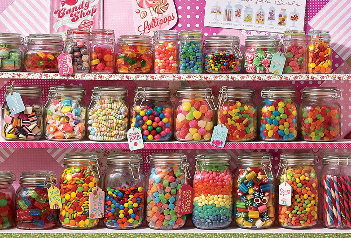 Candy Store Sweets Jigsaw Puzzle