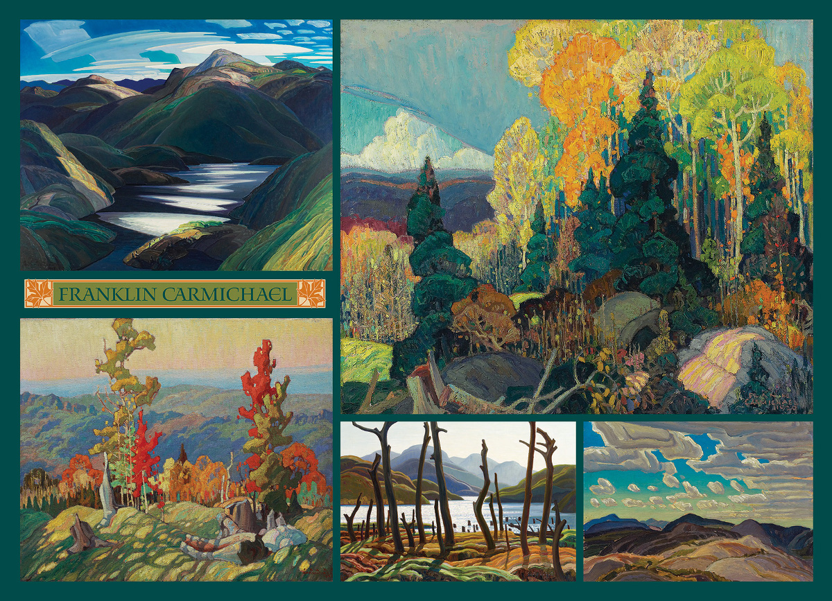 Carmichael Collection Landscape Jigsaw Puzzle