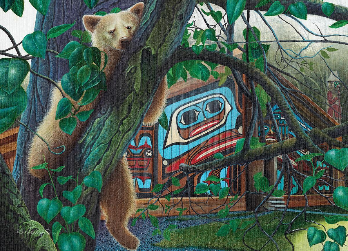 The Watcher Wildlife Jigsaw Puzzle