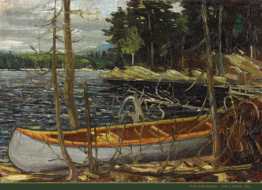 The Canoe Boats Jigsaw Puzzle