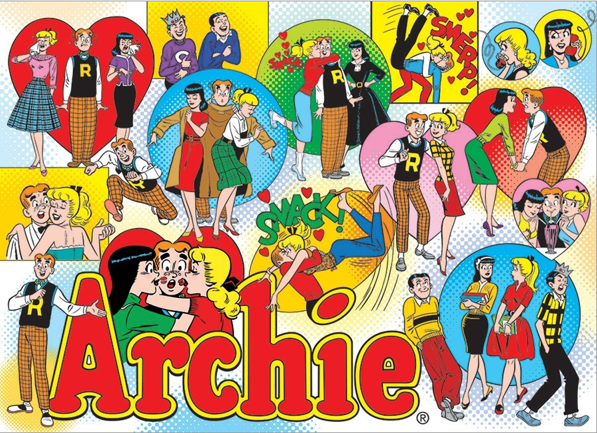 Classic Archie Graphics / Illustration Jigsaw Puzzle