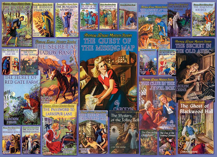 Vintage Nancy Drew Movies / Books / TV Jigsaw Puzzle