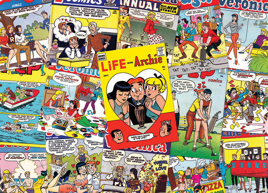 Archie Covers Cartoons Jigsaw Puzzle