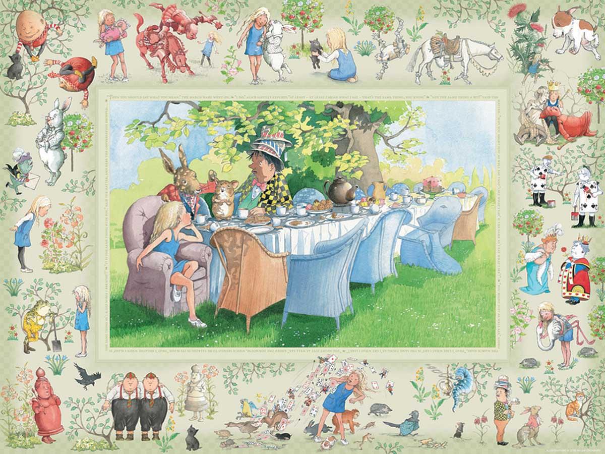 Alice's Adventures in Wonderland Fantasy Jigsaw Puzzle