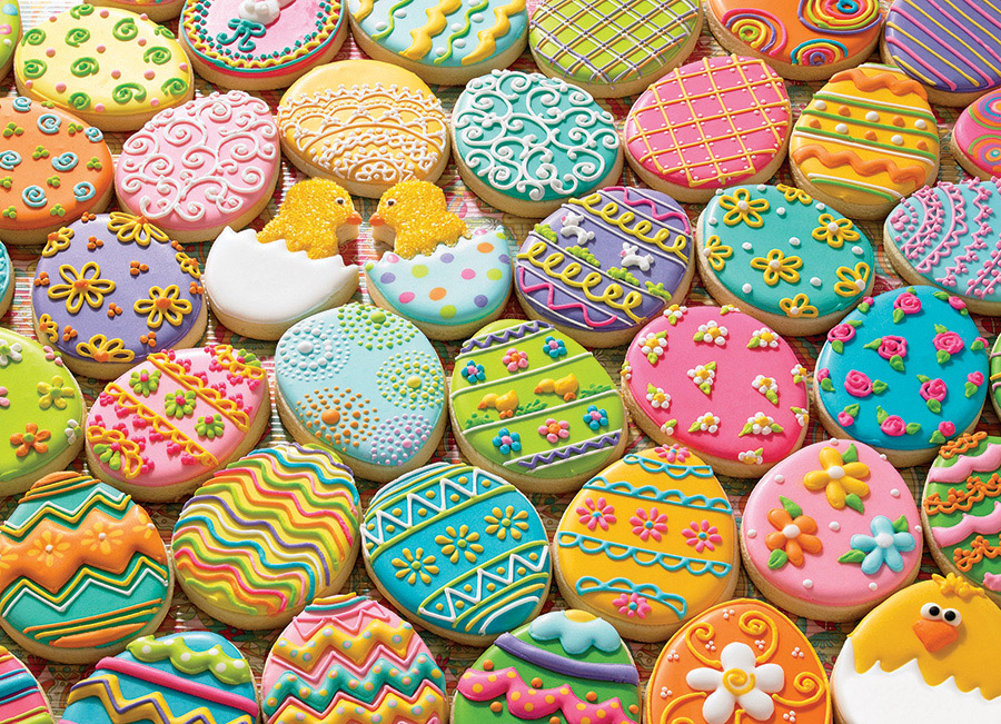 Easter Cookies Spring Jigsaw Puzzle
